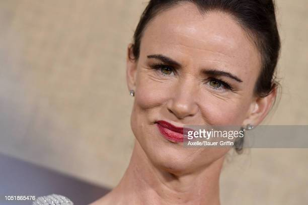 Juliette Lewis attends the Los Angeles premiere of HBO series 'Camping' at Paramount Studios on October 10 2018 in Hollywood California