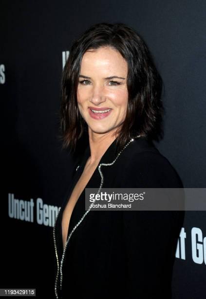 "Juliette Lewis attends the Los Angeles premiere of ""Uncut Gems"" on December 11, 2019 in Los Angeles, California."
