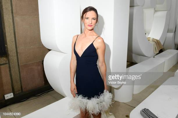 Juliette Lewis attends the Miu Miu show as part of the Paris Fashion Week Womenswear Spring/Summer 2019 on October 2 2018 in Paris France