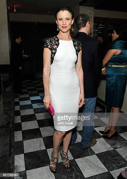 Juliette Lewis attends the Weinstein Company's holiday party at RivaBella on November 21 2013 in West Hollywood California