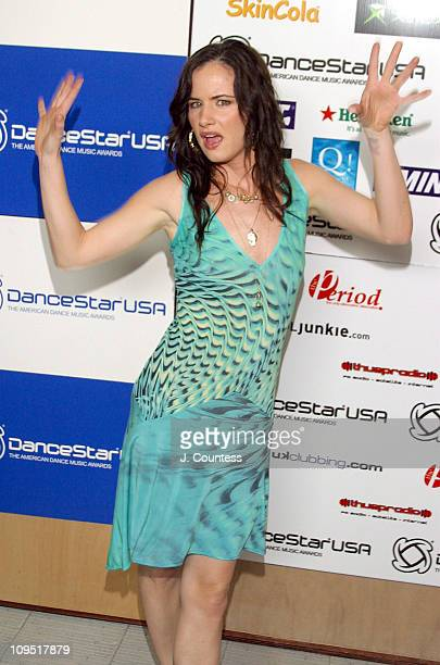 Juliette Lewis during 18th Annual Winter Music Conference DanceStar Awards Backstage in Miami Florida United States
