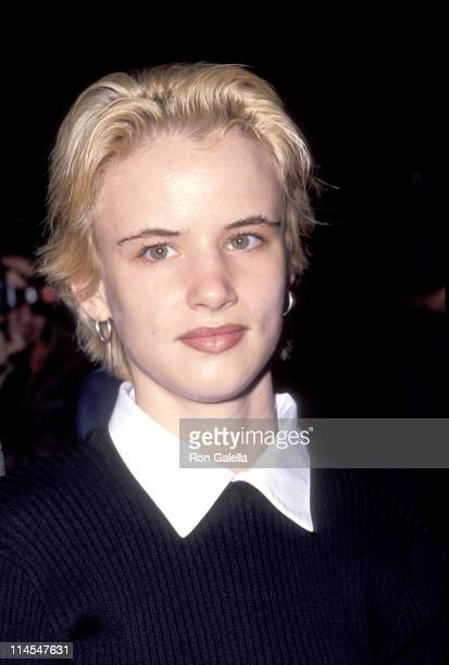 Juliette Lewis during 'A River Runs Through It' Premiere October 8 1992 at Ziegfeld Theater in New York City NY United States
