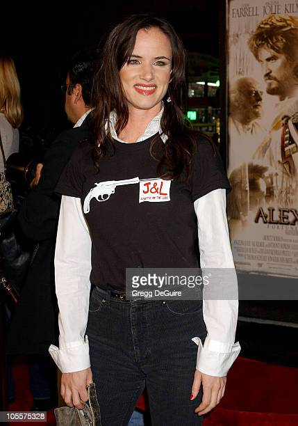 Juliette Lewis during 'Alexander' Los Angeles Premiere Arrivals at Grauman's Chinese Theatre in Hollywood California United States