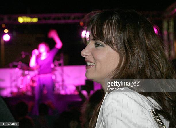Juliette Lewis during American Eagle Outfitters Rocks Los Angeles with a Back to School Tailgate Party - Inside at Hollywood Lot in Hollywood,...