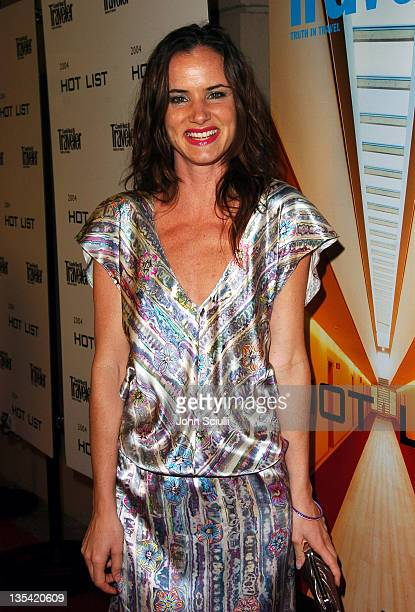 Juliette Lewis during Conde Nast Traveler Hot Nights Los Angeles Red Carpet at Spider Club in Hollywood California United States