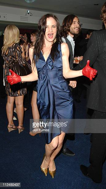 Juliette Lewis during GQ Men of the Year Awards Drinks Reception at Royal Opera House in London Great Britain