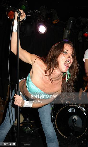 Juliette Lewis during Juliette Lewis And The Licks Perform at The Viper Room at The Viper Room in West Hollywood California United States
