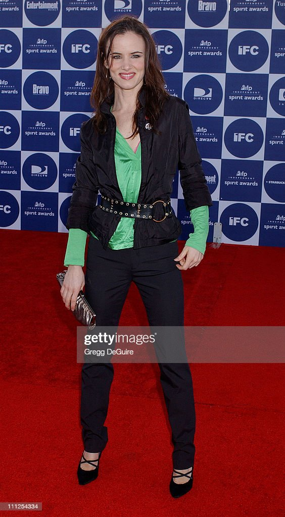 Juliette Lewis during The 19th Annual IFP Independent Spirit Awards - Arrivals at Santa Monica Pier in Santa Monica, California, United States.