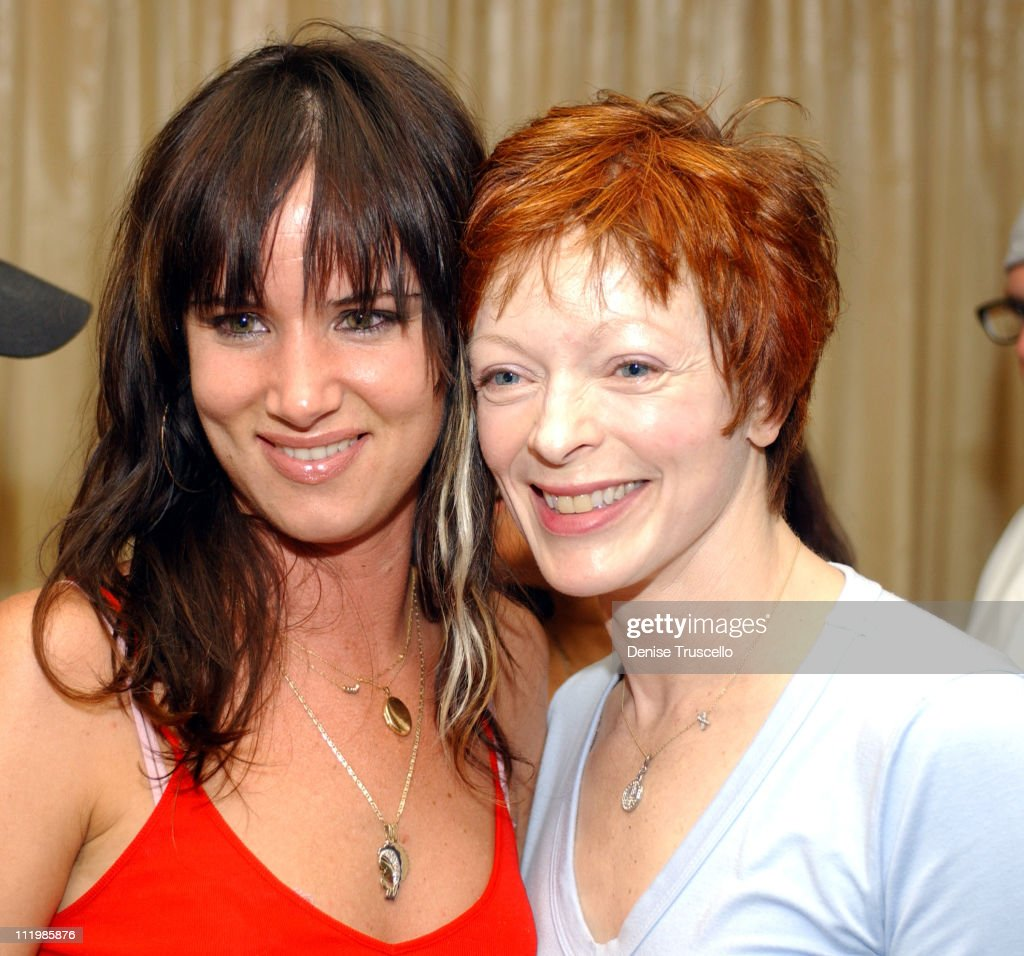 Juliette Lewis & Frances Fisher during Hard Rock Hotel and Casino Presents Bruce Springsteen After-Party at Hard Rock Hotel in Las Vegas, Nevada, United States.