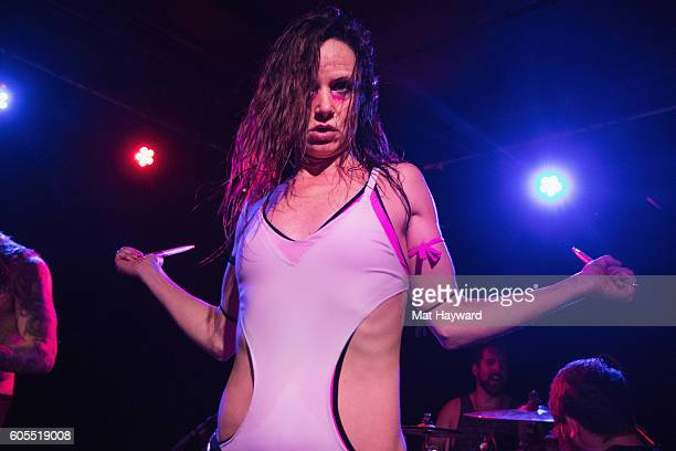Juliette Lewis performs on stage at Chop Suey on September 13 2016 in Seattle Washington