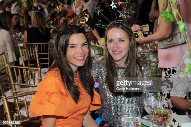 Juliette Longuet and Lara MeilandShaw attend 36th Annual Frederick Law Olmsted Awards Luncheon Central Park Conservancy at The Conservatory Garden in...