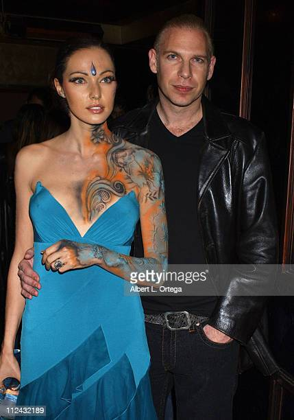 Juliette Marquis and director Ash during This Girl's Life Los Angeles Premier After Party at Bliss in West Hollywood California United States