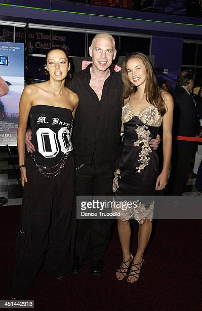 Juliette Marquis Ash Cheyenne Silver during CineVegas Film Festival 2003 Screening Of This Girls Life at The Palms Casino resort in Las Vegas Nevada...