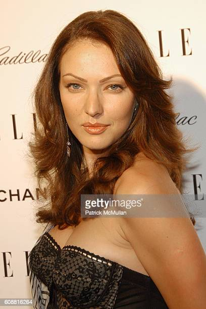 Juliette Marquis attends ELLE Magazine 14th Annual Women in Hollywood Event at Four Seasons Hotel on October 15 2007 in Los Angeles CA