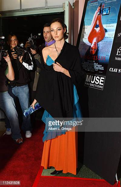 Juliette Marquis during This Girl's Life Los Angeles Premiere Red Carpet at Regent Theater in Los Angeles California United States