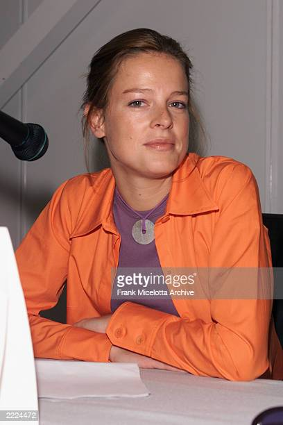 Juliette Renaud Director International Aquisitions at Studio Canal at the 'Pitch Me The Sequel'at the Variety Cannes Conference Series 2001 at the...