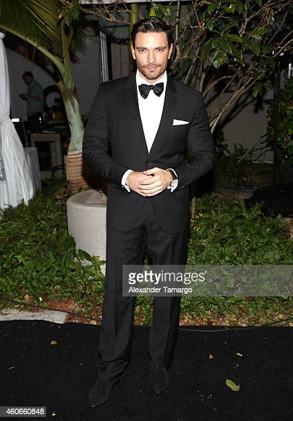 Julián Gil attends the inaugural Premios Univision Deportes at Univision Studios on December 17 2014 in Miami Florida