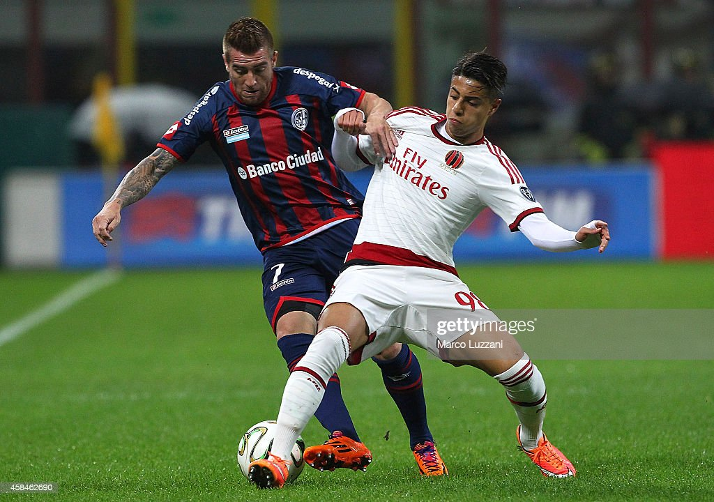 AC Milan v San Lorenzo - Luigi Berlusconi Trophy : Fotografía de noticias
