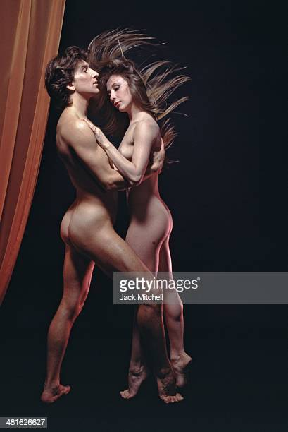 Julio Bocca and Eleonora Cassano photographed nude for the December 1993 issue of Playboy Magazine