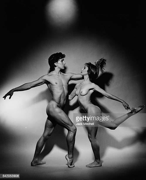 Julio Bocca and Eleonora Cassano photographed nude for the December 1993 issue of Playboy Magazine Photo by Jack Mitchell/Getty Images