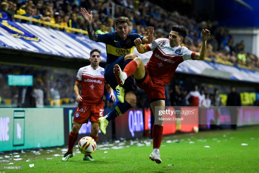 ARG: Boca Juniors v Argentinos Juniors - Copa de la Superliga 2019