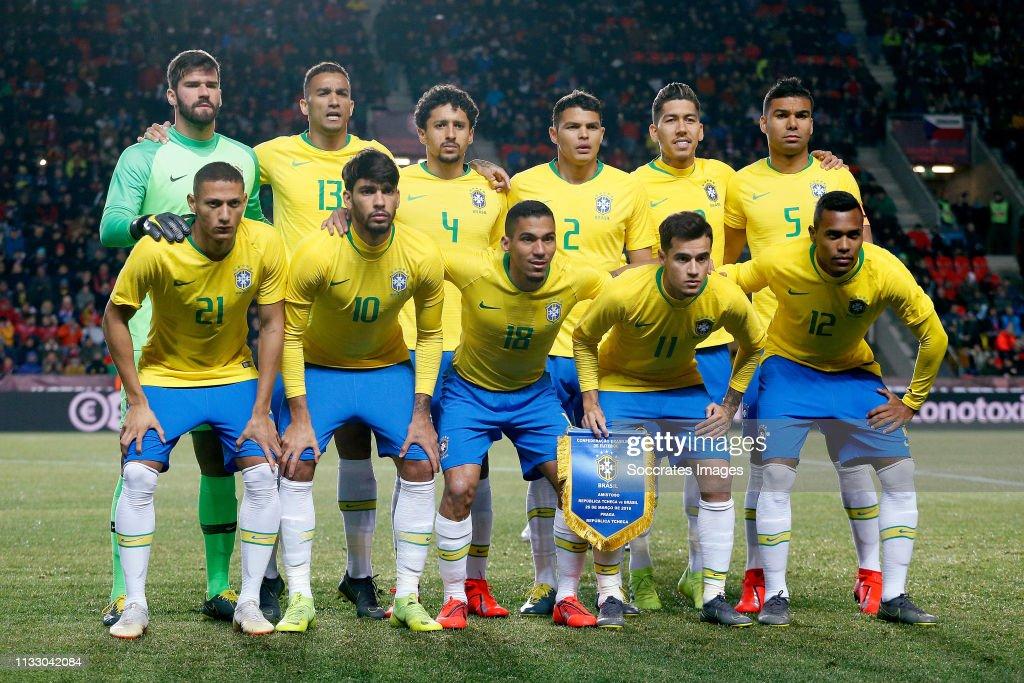 Czech Republic  v Brazil  -International Friendly : ニュース写真