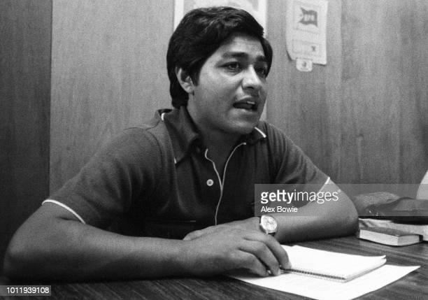 Julio Flores organising secretary of the Revolutionary Popular Bloc and general secretary of the National Association of Salvadorean Educators seen...