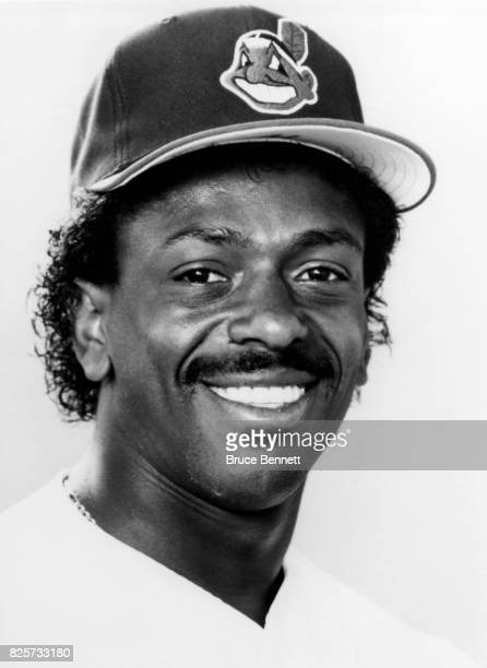 Julio Franco of the Cleveland Indians poses for a portrait circa March 1984 in Scottsdale Arizona