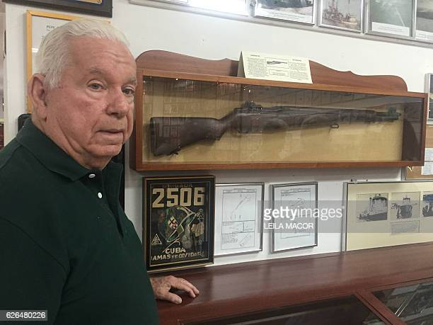Julio González Rebull 79 years old who was 23 and was part of the Brigade 2507 that attempted to overthrow the Cuban comunist government in 1961...
