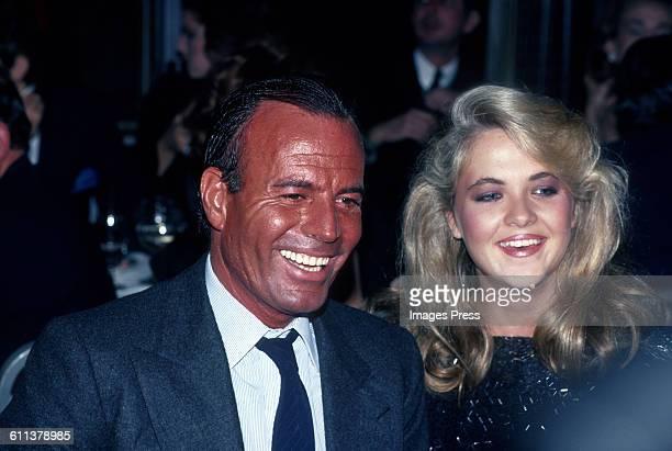 Julio Iglesias and Cornelia Guest circa 1983 in New York City