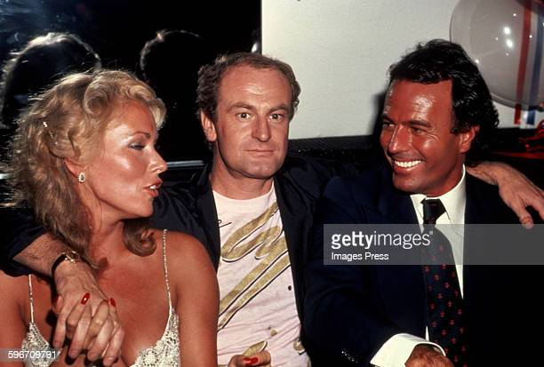 Julio Iglesias and Peter Allen circa 1981 in New York City