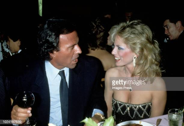 Julio Iglesias and Susan Anton circa 1984 in New York