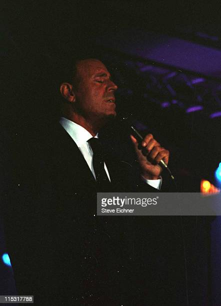 Julio Iglesias during New Yorkers for Children 1999 at Chelsea Piers Pier 60 in New York City New York United States