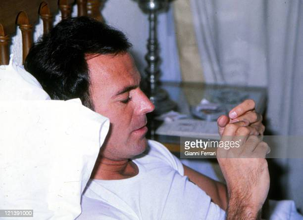 Julio Iglesias hospitalized for heart problems due to stress Madrid Spain