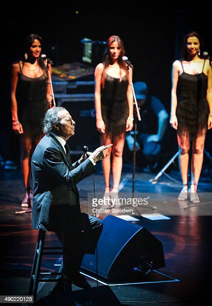 Julio Iglesias performs on stage at Royal Albert Hall on May 13 2014 in London United Kingdom