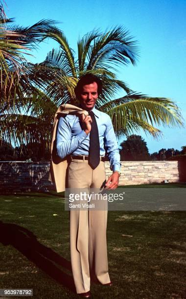 Julio Iglesias posing for a portrait on June 5 1980 in Miami Florida