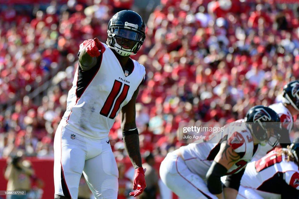 Atlanta Falcons v Tampa Bay Buccaneers : ニュース写真
