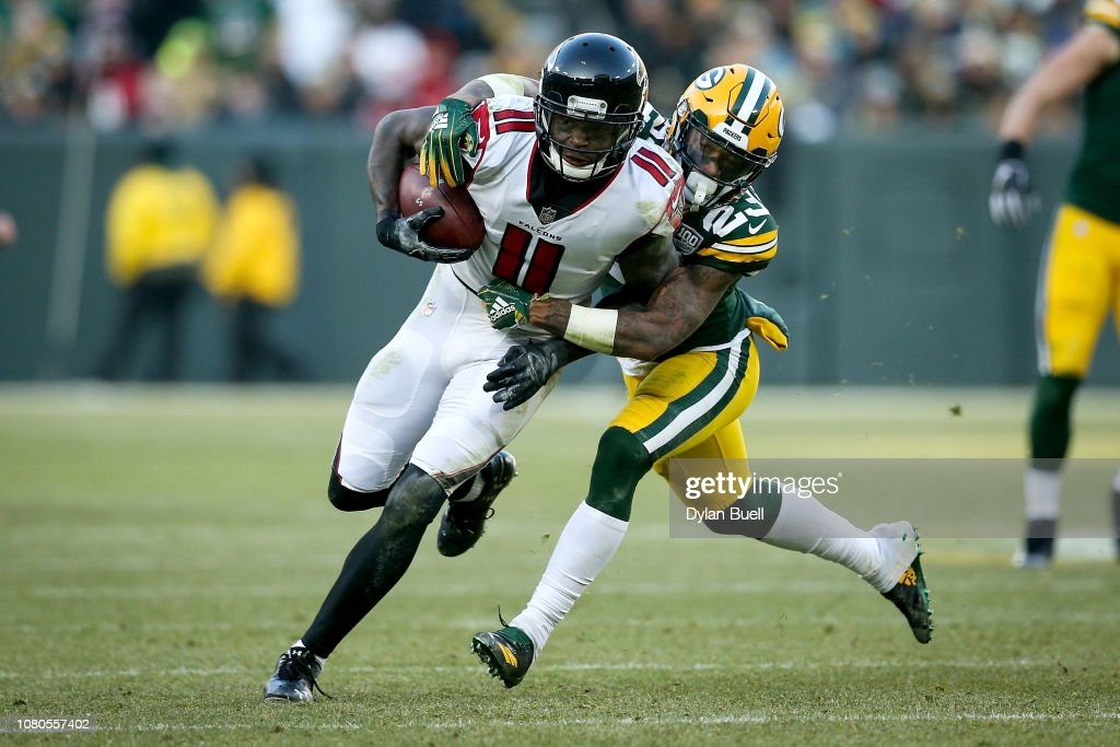 Atlanta Falcons v Green Bay Packers : News Photo
