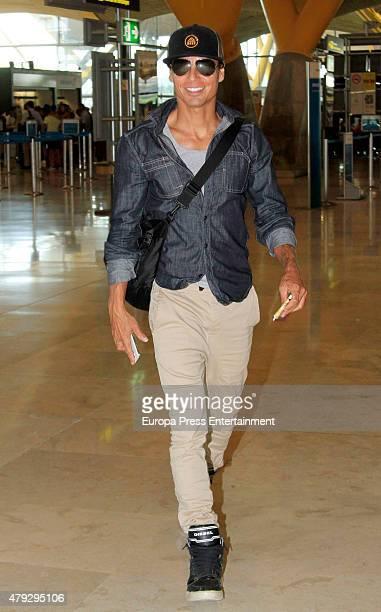 Julio Jose Iglesias is seen on July 2 2015 in Madrid Spain