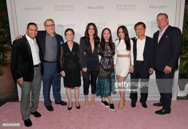 Julio Lamberty CAO Physicians Formula John Stephenson Owner Physicians Formula Lina Chen actress Chloe Bennet Naz Rohan Owner CEO Physicians Formula...