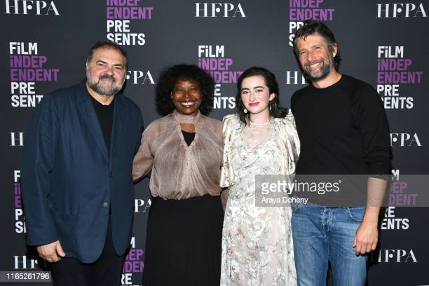 """Julio Macat, Jacqueline Lyanga, Abby Quinn and Bart Freundlich at Film Independent presents """"After The Wedding"""" at The Landmark on July 30, 2019 in..."""