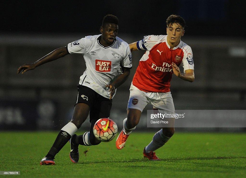 Arsenal v Derby County: U21 Premier League : News Photo