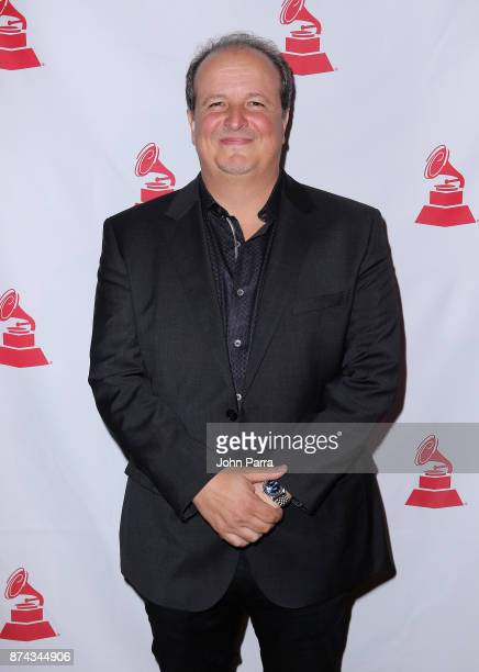 Julio Reyes Copello attends the CPI Event during the 18th annual Latin Grammy Awards at the Hardwood Suite at Palms Casino Resort on November 14 2017...