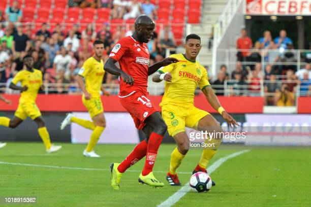 Jose Miguel Cardoso head coach of Nantes during the French Ligue 1 match between Dijon and Nantes at Stade Gaston Gerard on August 18 2018 in Dijon...