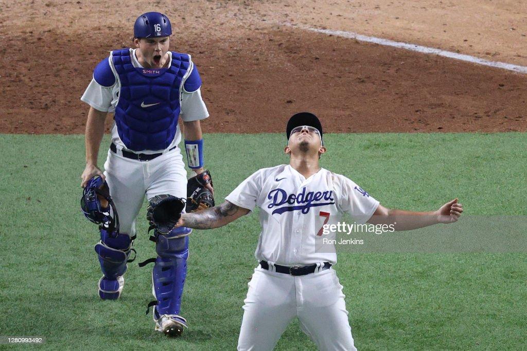 League Championship - Atlanta Braves v Los Angeles Dodgers - Game Seven : News Photo