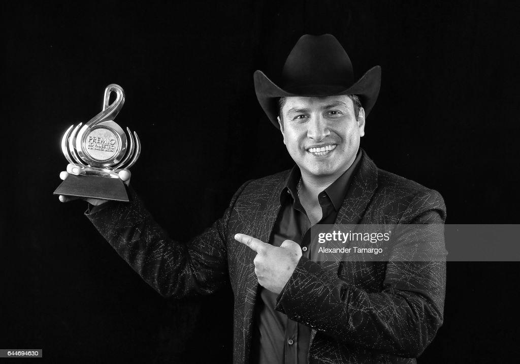 Julion Alvarez attends Univision's 29th Edition of Premio Lo Nuestro A La Musica Latina at the American Airlines Arena on February 23, 2017 in Miami, Florida.