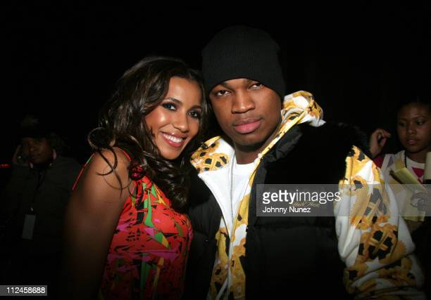 Julissa and NeYo during BET Presents 'Rip The Runway' Show and Inside at Roseland Ballroom in New York City New York United States