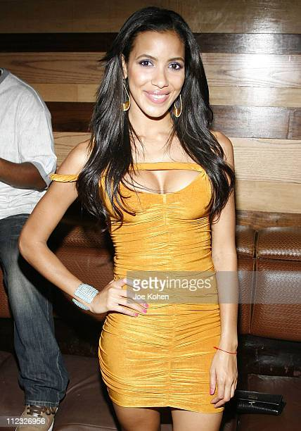 VJ Julissa Bermudez attends Missy Elliott's Birthday Bash at Marquee on July 2 2008 in New York City