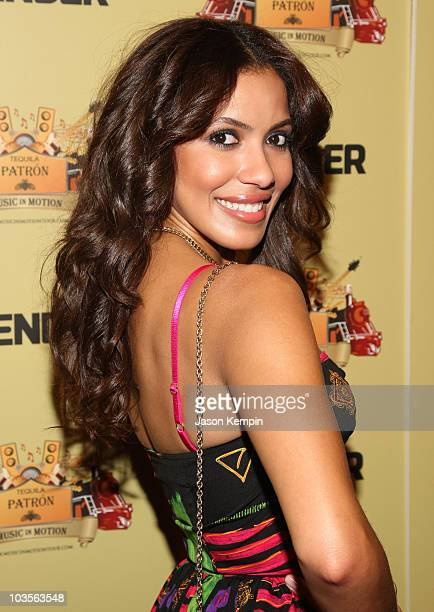 Julissa Bermudez attends Patron's Music in Motion Tour party at Marquee on September 29 2008 in New York City