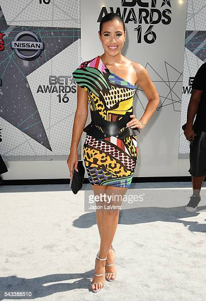 Julissa Bermudez attends the 2016 BET Awards at Microsoft Theater on June 26 2016 in Los Angeles California